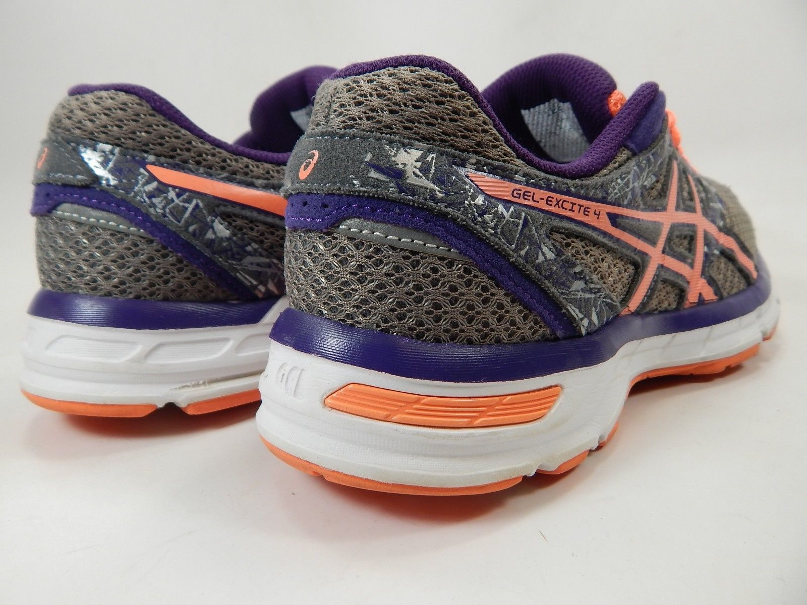 Asics Gel Excite 4 Size US 8 M (B) EU 39.5 Women's Running Shoes Gray T5E8N
