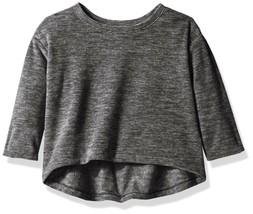 Crazy 8 Girls' Fleece Active Hoodie 4T Granite Gray - $13.29