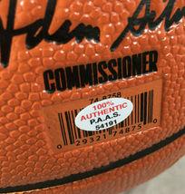 KYRIE IRVING / BROOKLYN NETS / AUTOGRAPHED FULL SIZE NBA LOGO BASKETBALL / COA image 5