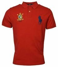 Polo Ralph Lauren Men Classic Fit Mesh Polo Shirt, Bright Red, XL 3025-6 - $62.36
