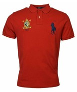Polo Ralph Lauren Men Classic Fit Mesh Polo Shirt, Bright Red, XL 3025-6 - $62.36