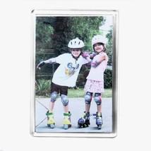 100Jumbo blanches Photo aimant pour réfrigérateur 89x 59mm Insert e1317 - $108.29