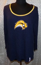Buffalo Sabres NHL Top Shirt 2XL Womens Beaded Sequins Hockey Tunic - $28.96