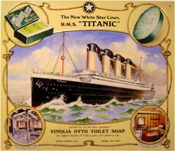 RMS Titanic Ocean Liner Metal Sign - $19.95