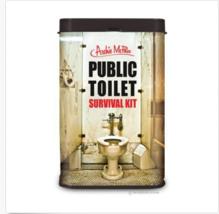 Archie McPhee Public Toilet Survival Kit - $6.86