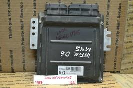 2006 Infiniti M45 Engine Control Unit ECU Module MEC35860D1 126-4b7 - $86.99