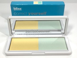 Bliss Correct Yourself Redness Correcting Powder New In Box  - $9.98