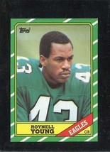 1986 Topps Set Break #278 Roynell Young Exmt *C15784 - $0.99