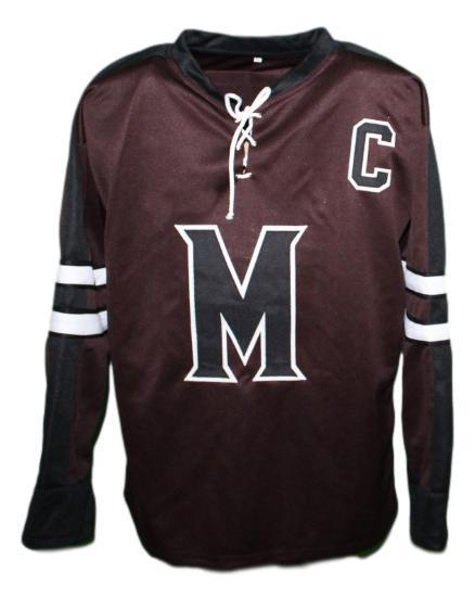 Mystery alaska movie hockey jersey biebe  10 brown   1