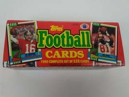 Topps Football 1990 Complete Set of 528 Cards NFL National Football League  - $18.67