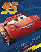 "Disney Cars 3""Blazing Forward Royal Plush Raschel Throw Blanket, Measure... - €35,13 EUR"