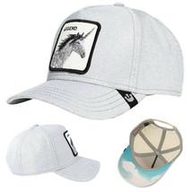 Goorin Bros Snapback Mesh Cap Unicorn Silver Glitter Grey Believer Trucker Hat