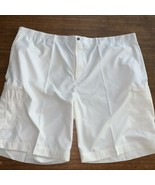 Callaway Golf Cargo Shorts 52B Opti Dry 15 SPF  New With Tags NWT $80 White - $37.99