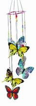 Spoontiques Butterfly Handpainted Metal Chime - $25.95