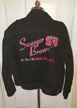 Rare Vtg 95 Sawyer Brown Tour Jacket Denim Wantin And Havin it all Size XL - $84.15