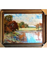 "Jose Cortez-Untitled-Framed Original Oil Canvas 47.5""x 37.5"" Signed-List... - $2,778.75"