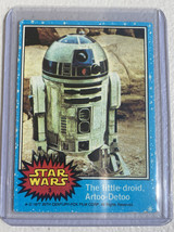 1977 Star Wars #3 R2-D2  The Little Droid, Artoo-Detoo Trading Card Series 1 (b) - $29.69