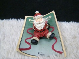 Westwater Enterprises Package Pals Ceramic Santa Package Topper, New on ... - $3.95