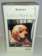 "Wonder Art Puppy Love Latch Hook Kit # 4670 Labrador  12"" x 12"" - $8.97"