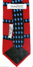 Vicky Davis Tee Time Men's Silk Necktie Golf Golfing Golfer Novelty Neck Tie image 3