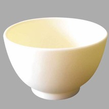Rubber Mixing Facial Mask Bowl - Silicon Face Mix Spa White Large Size - $6.79