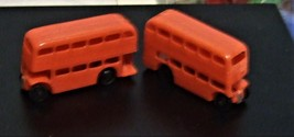 Vintage English Double Decker Buses ( Set of Two from the 50's) - $1.95
