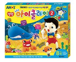 Amos iClay Play Pack Volume 2 Dough Modeling Compound Elastic Clay Toy Playset image 3
