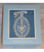 New Wedgwood Blue White Jasperware Our First Home 2007 Christmas Tree Or... - $15.29