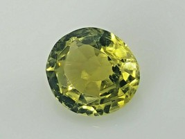 Natural Chrysoberyl 1.23 ct, 7x6.4 mm loose gemstone from sri Lanka - $80.00
