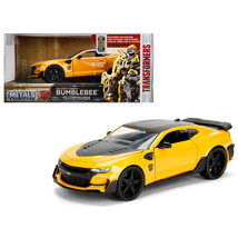 2016 Chevrolet Camaro Bumblebee Yellow From Transformers Movie 1/24 Diecast Mode - $37.75
