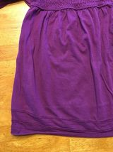 Arizona Girl's Purple Halter Top Shirt / Blouse Size: Medium image 7