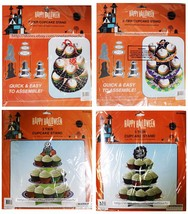 MOMENTUM BRANDS Party Decoration CUPCAKE STAND Three Tier HALLOWEEN *YOU... - $3.47