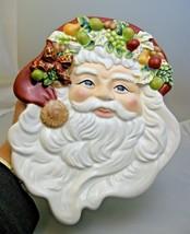 Waterford St. Nicholas Santa Cookie Plate Platter Holiday Heirlooms 1248... - $24.74