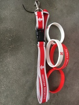 Rockets Key Lanyard with 2 James Harden Bracelets - $6.00