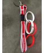 Rockets Key Lanyard with 2 James Harden Bracelets - $6.00