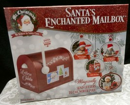 Mr Christmas~Enchanted Mailbox~Letters to Santa~Sound~Motion~Magically V... - $26.17