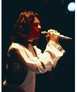 Jim Morrison in profile concert The Doors singing 16x20 Canvas Giclee - $69.99