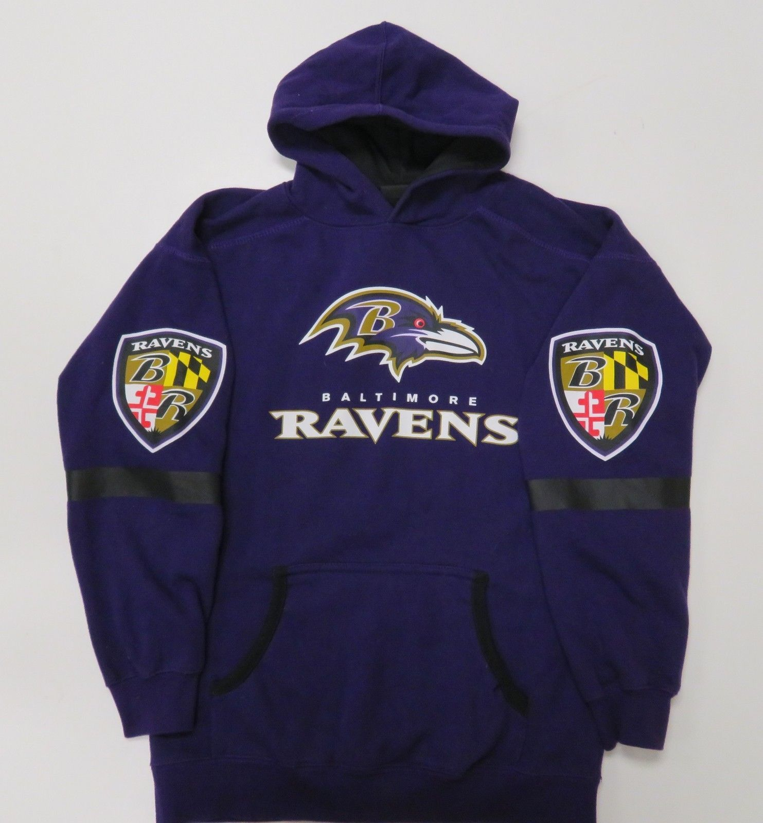 baltimore ravens sweatshirt youth large