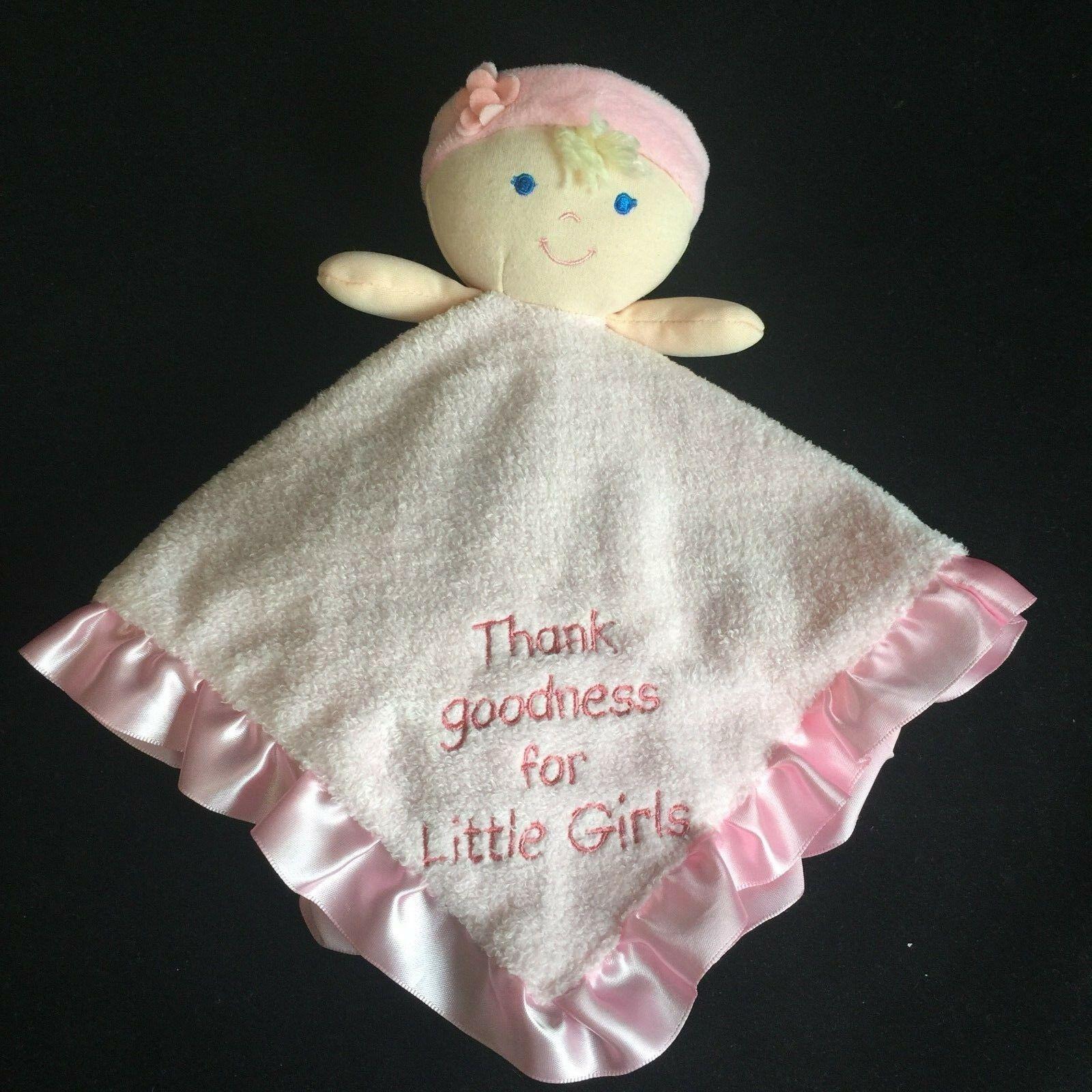Kids Preferred Girl Lovey Thank Goodness for Little Girls Blonde Blue Eyes