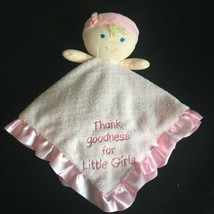 Kids Preferred Girl Lovey Thank Goodness for Little Girls Blonde Blue Eyes  - $12.99