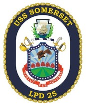 USS Somerset Sticker Military Armed Forces Navy Decal M197 - $1.45+