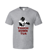 Tua Tagovailoa Touchdown Alabama Football Sport Gray T Shirt - $19.99