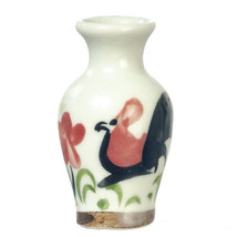DOLLHOUSE MINIATURES DECORATIVE CERAMIC VASE #G7561 - $2.99