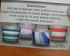 Candle Making Kit, 3oz Set, Glass Holder, 3 Scents Sea Spray Blueberry Magnolia image 5