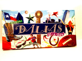 LATE FOR THE SKY ~ DALLAS-OPOLY BOARD GAME (NEW) - $29.95