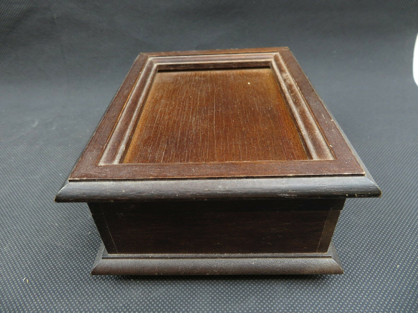 Primary image for Vintage wood music box The San Francisco Music Box Company Mid Century deco