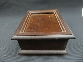 Vintage wood music box The San Francisco Music Box Company Mid Century deco - $33.00
