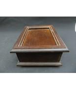 Vintage wood music box The San Francisco Music Box Company Mid Century deco - $33.00