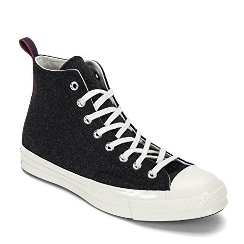 Converse Chuck Taylor All Star '70 Hi Sneakers (US Men's 8/Women's 10, Black, 15