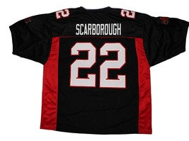 Scarborough #22 Mean Machine Longest Yard Movie Football Jersey Black Any Size image 2